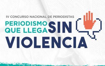 Periodismo que llega sin violencia: lanzan cuarta edición